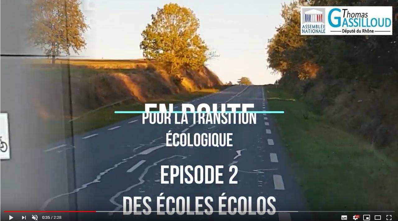 «En route pour la transition écologique» #2 : des écoles écolos