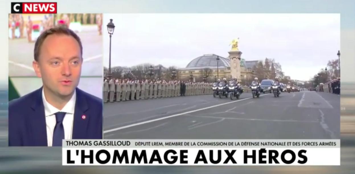 Hommage national aux 13 militaires français décédés au Mali