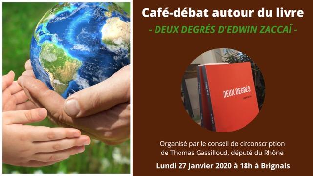 Café-débat : Le changement climatique, mythe ou réalité ?