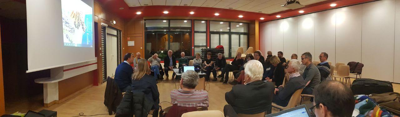 26e conseil de circonscription à Sainte-Foy-l'Argentière : les citoyens travaillent sur la réforme des retraites