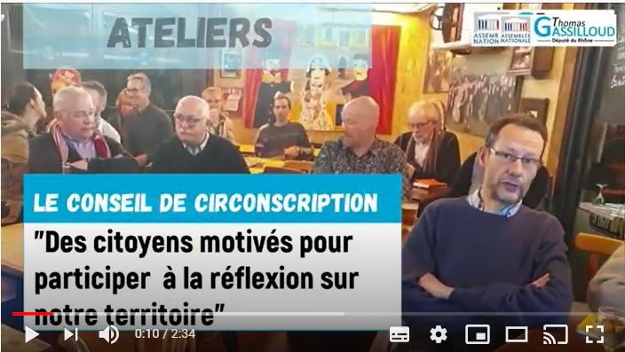 Les citoyens du conseil de circonscription présentent leurs actions en vidéo