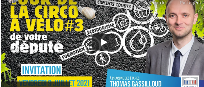 """""""De la fourche à la fourchette"""" : 6 étapes au menu du 3e Tour de la circo à vélo"""